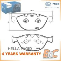 FRONT DISC BRAKE PAD SET BMW ROLLS-ROYCE HELLA PAGID OEM 34112339272