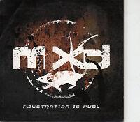 CD ALBUM PROMO MXD / FRUSTRATION IS FUEL