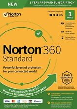 Norton 360 Standard 2020 dispositivi 1 PC 1 anno PC MAC SMARTPHONE