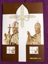 FOLDER 2014 CANONIZZAZIONE DI PAPA GIOVANNI XXIII E DI PAPA GIOVANNI PAOLO II
