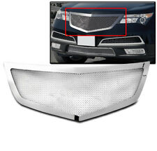 ACURA 2010 2011 2012 2013 MDX SUV MAIN UPPER STAINLESS STEEL MESH GRILLE CHROME