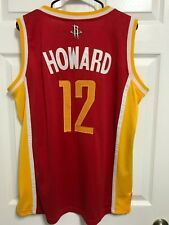 Dwight Howard 12 Houston Rockets Men Red ClimaCool Basketball Jersey M Adidas