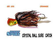 KABURA CRYSTAL BALL SURE CATCH  ORIGINALE 100 GR ORANGE