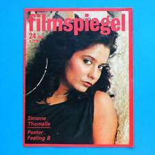 DDR Filmspiegel 24/1988 Simone Thomalla Johannes Heesters Hans Klering III