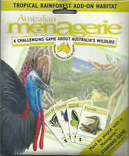 AUSTRALIAN MENAGERIE BOARD GAME - ADD-ON PACK - TROPICAL RAINFOREST HABITAT
