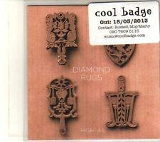 (DT354) Diamond Rugs, Hightail - 2013 DJ CD