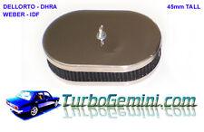 Air Cleaner Filter 45mm Tall Weber IDF Dellorto DRLA Gemini Mazda Escort Cortina