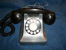 WESTERN ELECTRIC 302 DESK TELEPHONE-  METAL CASE-INDUSTRIAL LOOK!!