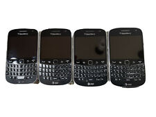 BlackBerry AT&T Bold 9000 Global 3G / 4G Smartphone Lot Of 4.