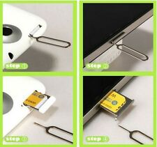 Sim Card Tray Ejector For iPhone 3 4 5 6 7 SE i Pad Remover Eject Pin Key Tool g