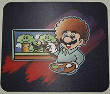 Super Mario Bob Ross Mouse Pad