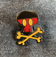 Disney Mickey Mouse Skull and Crossbones Pin