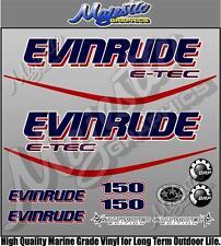 EVINRUDE ETEC - 150hp - OUTBOARD DECALS