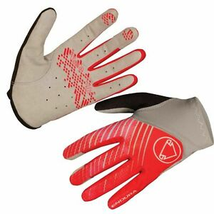 Endura Womens Hummvee Lite Cycling Gloves Coral Grey Lightweight Trail SMALL