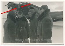 114867, Foto: Flugzeug Junkers Ju-52 mit Maling Kennung, Besatzung, Winter 1941