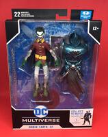 McFarlane Toys DC Multiverse Batman Robin Crow Action Figure BAF NIB - In Stock