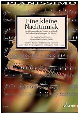 Klavier Noten : Eine kleine Nachtmusik 60 Meisterwerke KLASSIK Heumann leMi - MS