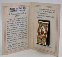 Vintage Needle Book Liberty National Life Insurance Co Advertising Birmingham AL