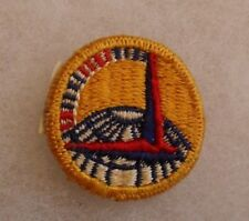 """WWII GOLD ATC FERRY COMMAND COLLAR INSIGNIA EMBROIDERED 1 3/8"""" DIAMETER"""