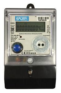 elektronischer Wechselstromzähler 5/40 A. MID Zulassung 1-phasig