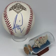 Jamie Moyer signed Rawlings 2008 World Series Baseball JSA Phillies A870