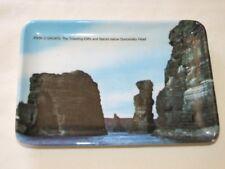 Vintage 70's Melamine Souvenir John O'Groats Ashtray Trinket Coin Tray Plate