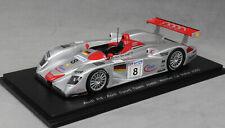 Spark Audi R8 Le Mans Winner 2000 Kristensen, Pirro and Biela 43LM00 1/43 NEW