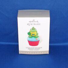 Hallmark - Lucky Leap-Rechaun - Frog - Keepsake Cupcakes #4 - Monthly Ornament