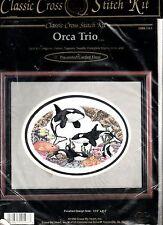 Orca Trio - Cross Stitch Kit - X My Heart