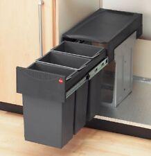 Hailo Tandem 3 x 10 Liter Abfallsammler Mülleimer Küche