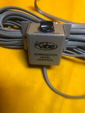 Lanzar Vibe Subwoofer Level Control Bass Knob And Cord