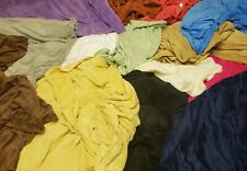 """Soft Plush Solid Throw Blanket - 16 Vibrant Colors 50"""" x 60"""" - Sale!"""