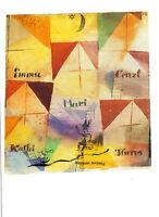The Governess Das Kinderfräulein Kunstpostkarte Paul Klee