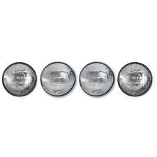 "5-3/4"" 5.75 Sealed Beam Halogen Glass Hi & Low Headlight Headlamp Bulbs Set 4"