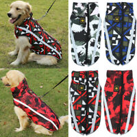Waterproof Pets Dog Winter Warm Clothes Padded Coat Vest Jacket Apparel Costume
