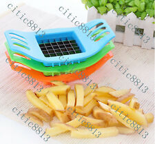 1PCs French Fry Potato Chip Cutter Vegetable Fruit Slicer Chopper Chipper Blade