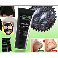 Blackhead Remover Nose Face Mask Strip Cleansing Acne Pore Deep Black Mud Hot AE