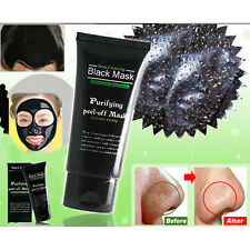 Hot Face Mask Nose Blackhead Acne Pore Deep Remover Cleansing Strip Black Mud
