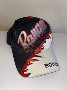 VTG Ranger Boats Black & Red Flames Hat