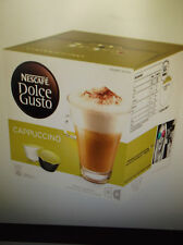 Nescafe Dolce Gusto Cappuccino  Coffee Capsules- 1 Boxes Of 16 Pods NEW & SEALED