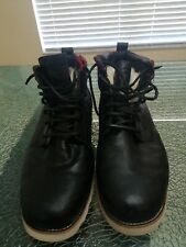 Mens Ugg  3242 Waterproof Boots Size 17 Black leather NBA