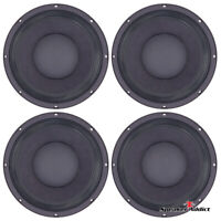 4-PACK Peavey 10 INCH 8ohm bass guitar speaker BAM-1038-MI Woofer by Eminence