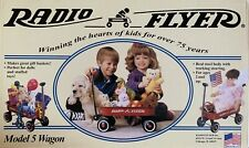 "12"" Doll Radio Flyer Model 5 Wagon Mini Red Steel Toy Gift Basket Small New"