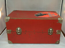 Vintage 1940's Doll Trunk-15 /12 x 9 1/2 x 8 -Covered Wood Frame