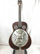 DEAN SPIDER ANTIQUE DISTRESSED RESONATOR GUITAR WITH COLE CLARK FAT LADY CASE