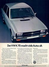 VW-K 70-1970-Reklame-Werbung-vintage print ad-Vintage Publicidad