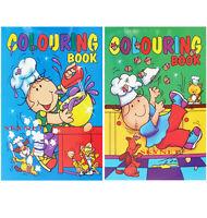 2 x A4 COLOURING BOOK BOOKS BOYS GIRLS Children Kids FUN HOLIDAYS