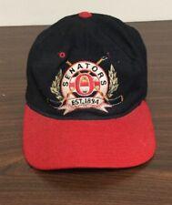Vintage Ottawa Senators NHL Wool Starter Snapback Hat Cap