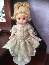 """MADAME ALEXANDER DOLL 8"""" BENT KNEE WENDY - ANTIQUE CHAOS THE BEAR AND WENDY"""