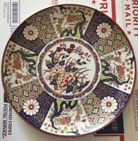 Arita Antique Vintage Japanese Porcelain Plate